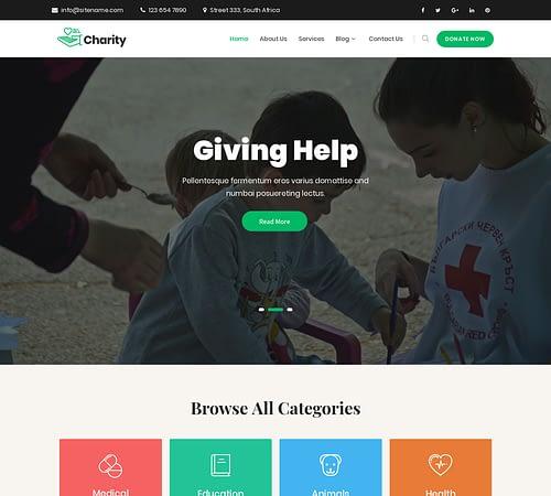 SKT Charity screenshot